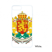 Sofia Bulgaria National Emblem For iPhone 7/8 Plus Cases White Phonecase Apple Cover Case Gift