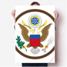 United States National Emblem Sticker Poster Decal 31x22