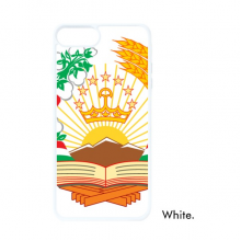 Tajikistan Asia National Emblem For iPhone 7/8 Plus Cases White Phonecase Apple Cover Case Gift
