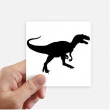 Dinosaur Bones Miniature Extinction Square Stickers 10cm Wall Suitcase Laptop Motobike Decal 8pcs