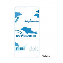 Blue Ocean Dolphin Biology For iPhone 7/8 Plus Cases White Phonecase Apple Cover Case Gift