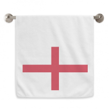 England National Flag Europe Country Circlet White Towels Soft Towel Washcloth 13x29 Inch