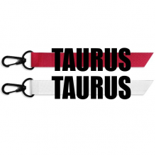 TAURUS Zodiac Sign Black Fashion Ribbons Accessories Hangings Red White 2pcs Gifts