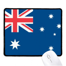 Australia National Flag Oceania Country Non-Slip Mousepad Game Office Black Titched Edges Gift