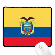Ecuador National Flag South America Country Mousepad Stitched Edge Mat Rubber Gaming Pad