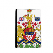 Canada National Emblem Country Passport Holder Travel Wallet Cover Case Card Purse
