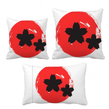 Abstract Brush Painting Japan Throw Pillows Set Insert Cushion Cover Home Sofa Decor Gift