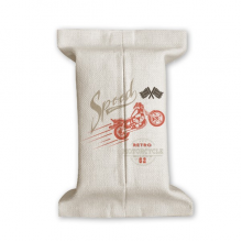 Mechanical Motorcycle Pattern Outline Tissue Paper Cover Cotton Linen Holder Storage Container Gift