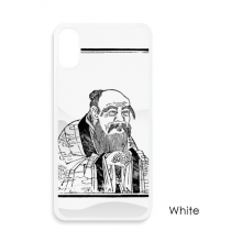 Dao Religion Lao Tzu China For iPhone X Cases White Phonecase Apple Cover Case Gift