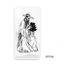 Dao Religion China Ink Ppriest For iPhone X Cases White Phonecase Apple Cover Case Gift