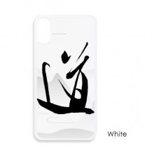 Dao Religion China Ink For iPhone X Cases White Phonecase Apple Cover Case Gift
