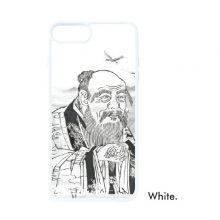 Dao Religion China Ink Painting For iPhone 7/8 Plus Cases White Phonecase Apple Cover Case Gift