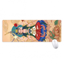 Dao Religion God  Chinese Non-Slip Mousepad Large Extended Game Office titched Edges Mat Gift