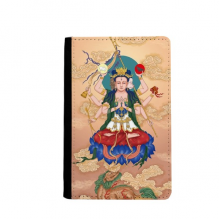 Dao Religion God  Chinese Passpord Holder Travel Wallet Cover Case Card Purse Gifts