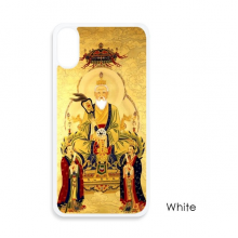 Dao Religion Chinese God For iPhone X Cases White Phonecase Apple Cover Case Gift