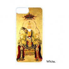 Dao Religion Chinese God For iPhone 7/8 Plus Cases White Phonecase Apple Cover Case Gift