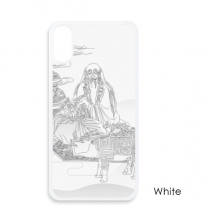 Dao Religion China Cattle Lao Tzu For iPhone X Cases White Phonecase Apple Cover Case Gift