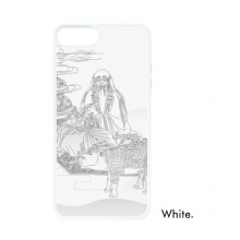 Dao Religion China Cattle Lao Tzu For iPhone 7/8 Plus Cases White Phonecase Apple Cover Case Gift
