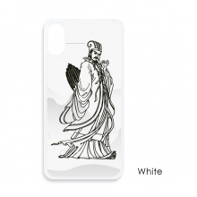 Dao Religion China Zhuge Liang For iPhone X Cases White Phonecase Apple Cover Case Gift