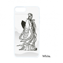 Dao Religion China Zhuge Liang For iPhone 7/8 Plus Cases White Phonecase Apple Cover Case Gift