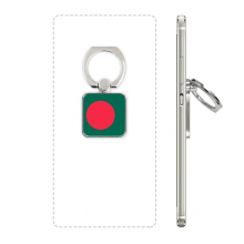 Bangladesh National Flag Asia Country Square Cell Phone Ring Stand Holder Bracket Universal Support Gift