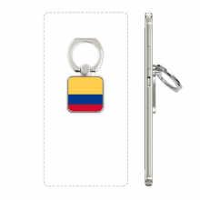 Colombia National Flag South America Country Square Cell Phone Ring Stand Holder Bracket Universal Support Gift