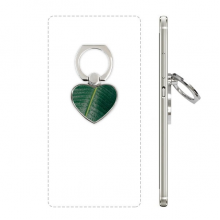 Banana Leaf Plant Picture Nature World Heart Cell Phone Ring Stand Holder Bracket Universal Support Gift
