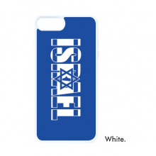 Israel Country Flag Name For iPhone SE 2 new for Apple 78 Case Cover White