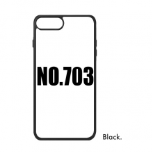 Lucky No.703 Number Name For iPhone 8/8 Plus Cases Phonecase Apple Cover Case Gift