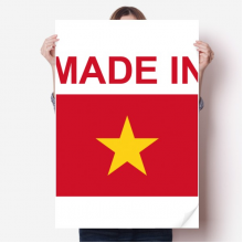 Made In Vietnam Country Love Vinyl Wall Sticker Poster Mural Wallpaper Room Decal 80X55cm