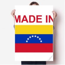 Made In Venezuela Country Love Vinyl Wall Sticker Poster Mural Wallpaper Room Decal 80X55cm