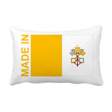 Made In Vatican City Country Love Throw Pillow Lumbar Insert Cushion Cover Home Decoration