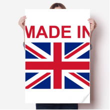 Made In United Kingdom Country Love Vinyl Wall Sticker Poster Mural Wallpaper Room Decal 80X55cm
