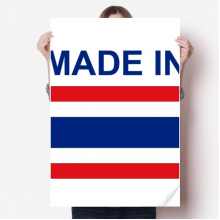Made In Thailand Country Love Vinyl Wall Sticker Poster Mural Wallpaper Room Decal 80X55cm