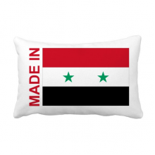 Made In Syria Country Love Throw Lumbar Pillow Insert Cushion Cover Home Sofa Decor Gift
