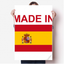 Made In Spain Country Love Sticker Decoration Poster Playbill Wallpaper Window Decal