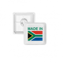 Made In South Africa Country Love PBT Keycaps for Mechanical Keyboard White OEM No Marking Print