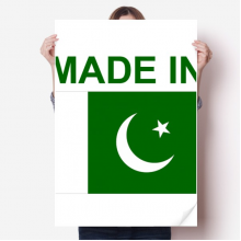 Made In Pakistan Country Love Sticker Decoration Poster Playbill Wallpaper Window Decal