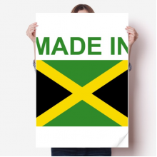 Made In Jamaica Country Love Sticker Poster Decal 31x22