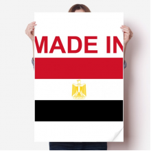 Made In Egypt Country Love Sticker Decoration Poster Playbill Wallpaper Window Decal
