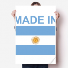 Made In Argentina Country Love Sticker Decoration Poster Playbill Wallpaper Window Decal