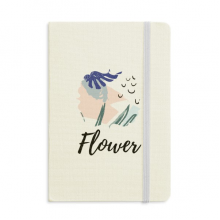 Heaven Abstract Plants Art Pattern Notebook Fabric Hard Cover Classic Journal Diary A5