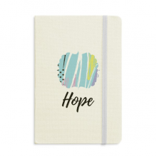 Joy Abstract Plants Art Pattern Notebook Fabric Hard Cover Classic Journal Diary A5