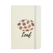 Petal Abstract Plants Art Pattern Notebook Fabric Hard Cover Classic Journal Diary A5
