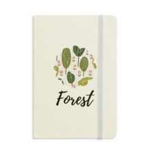 Tree Abstract Plants Art Pattern Notebook Fabric Hard Cover Classic Journal Diary A5