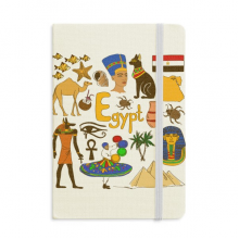 Egypt Landscap Animals National Flag Notebook Official Fabric Hard Cover Classic Journal Diary