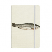 Ocean Fish Fresh Grey Classic Notebooks Fabric Hard Cover Office Work Gift