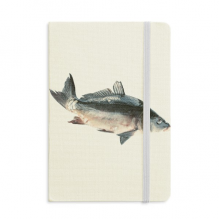 Ocean Fish Activity Food Classic Notebooks Fabric Hard Cover Office Work Gift