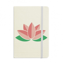 Flower Plant Lotus Leaf Lotus Flower Classic Notebooks Fabric Hard Cover Office Work Gift