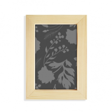 Botany Abstract Plants Art Pattern Desktop Wooden Photo Frame Picture Art Painting 5x7 inch